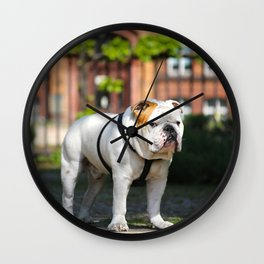 No Entry - Bulldog #decor #homedecor Wall Clock