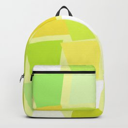 Tiptoe Through the Trapezoids Geometric Abstract Backpack