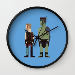 Friends From Work Wall Clock