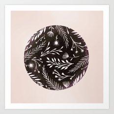 Night Flora Art Print