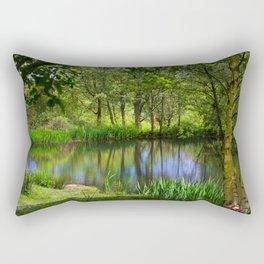 Spring views Rectangular Pillow
