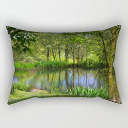 Spring views Rectangular Pillow