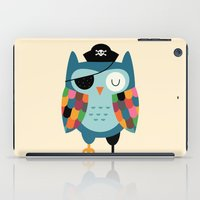 captain iPad Cases featuring Captain Whooo by Andy Westface