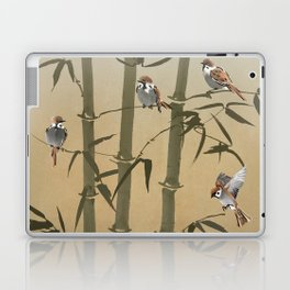 Sparrows And Bamboo Laptop & iPad Skin