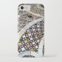 jewish iPhone & iPod Cases featuring Mosaic Tile Vatican Floor (Hidden Jewish Star) by Amanda Lynn Granek