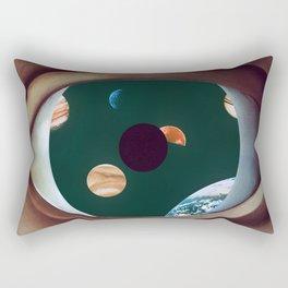 The False Rene Rectangular Pillow