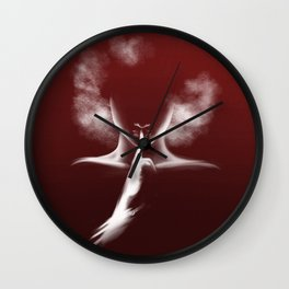 Femme Fatale - Afro Woman Wall Clock