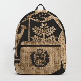 Peru Rustic Shield Backpack