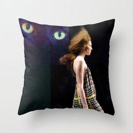 catwalk 002 Throw Pillow