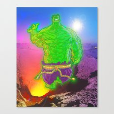 Incredible Hulk Canvas Print