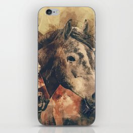 My horses are amazing iPhone Skin