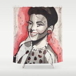 Lena Horne Shower Curtain