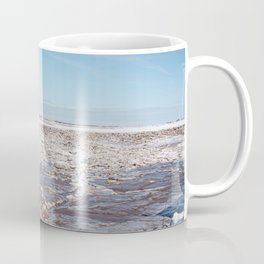 Snow on the Bay of Fundy Coffee Mug