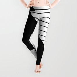 Phases Of Black And White Leggings