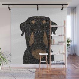 Rottweiler - Teddy Wall Mural