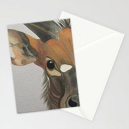 Lowland nyala Stationery Cards