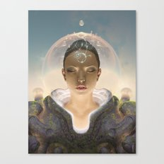 Telepathist Canvas Print