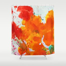 Splat! Shower Curtain