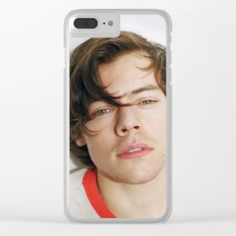 harry styles for rolling stone Clear iPhone Case