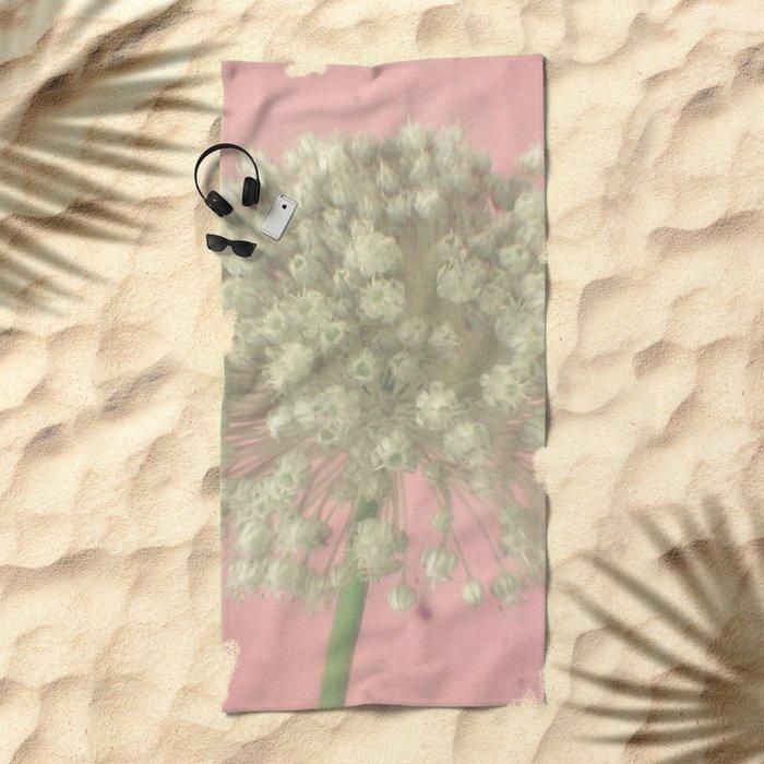 Rose Tinted Beach Towel