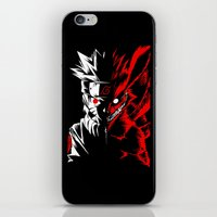 naruto iPhone & iPod Skins featuring Naruto by offbeatzombie