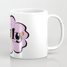 Emily with purple flower :) Coffee Mug