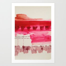 Map To Morocco (Refined Series 8)  Art Print