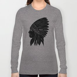 Indian Chief / Black Edition Long Sleeve T-shirt