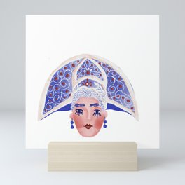 Russian princess Mini Art Print