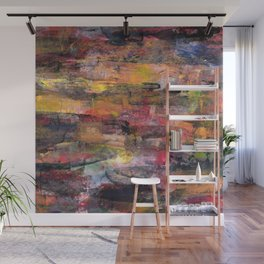 Sunset Pond Wall Mural