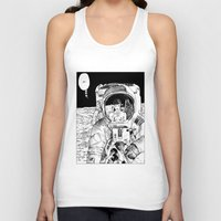 apollonia Tank Tops featuring asc 333 - La rencontre rapprochée ( The close encounter) by From Apollonia with Love