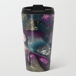 Abstract Waves Travel Mug