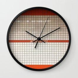 Nuremberg U-Bahn Memories - Aufessplatz Wall Clock