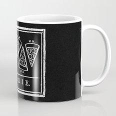 Eat, or Die (black) Mug