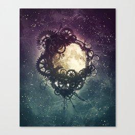 Clockwork Moon Canvas Print