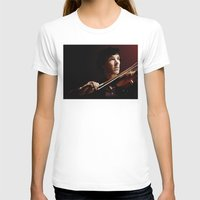 violin T-shirts featuring Violin by Nero749