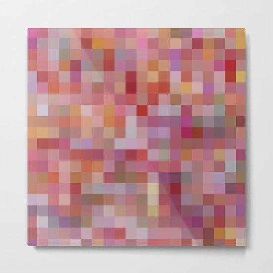 Raspberry Sorbet Metal Print