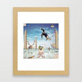Gunas Framed Art Print