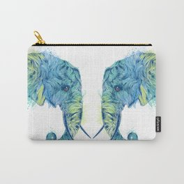 Elephant Head II Carry-All Pouch