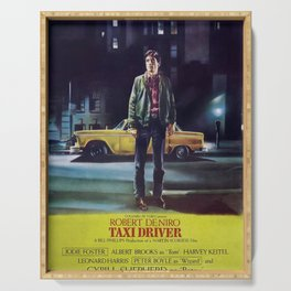 Taxi Driver, Vintage Poster, 1976 Serving Tray