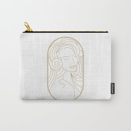Girl Art Deco 07 Carry-All Pouch