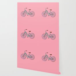Donut Bicycle Wallpaper