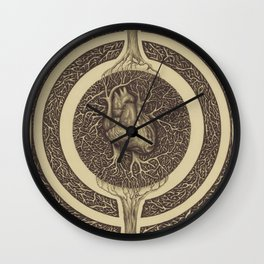 Heart of the Matter  Wall Clock