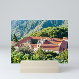 Monastery of San Esteban - Galicia, Spain Mini Art Print