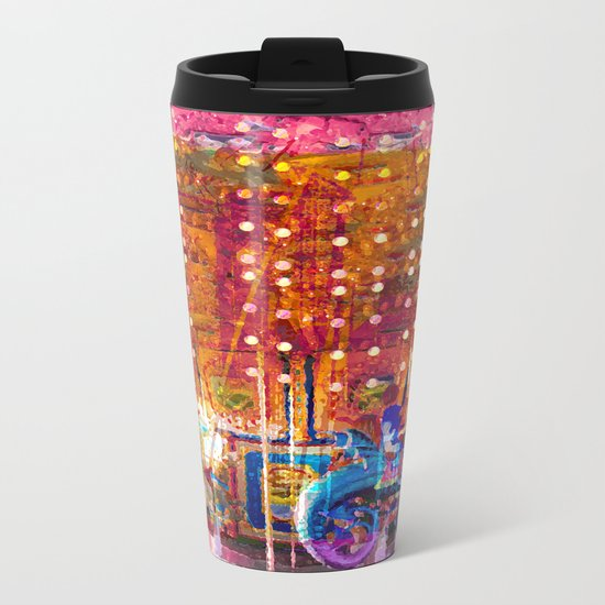 Today We Ride Angry Sea Dragons For Three Tickets Metal Travel Mug