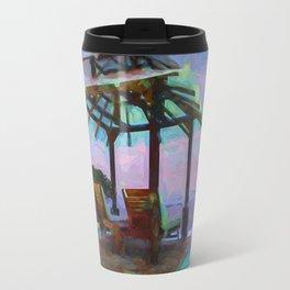 Tropical Coast Travel Mug