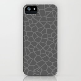 Staklo (Gray on Gray) iPhone Case