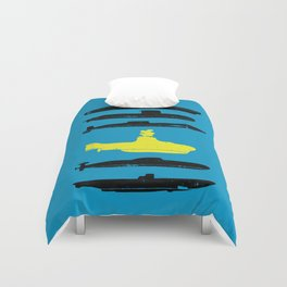 Know Your Submarines V2 Duvet Cover