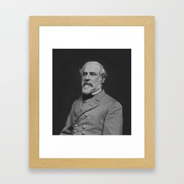 Civil War General Robert E. Lee Framed Art Print