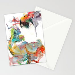 Drifting Particles Stationery Cards